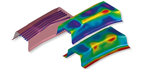 Process Simulation For Sheet Metal Forming