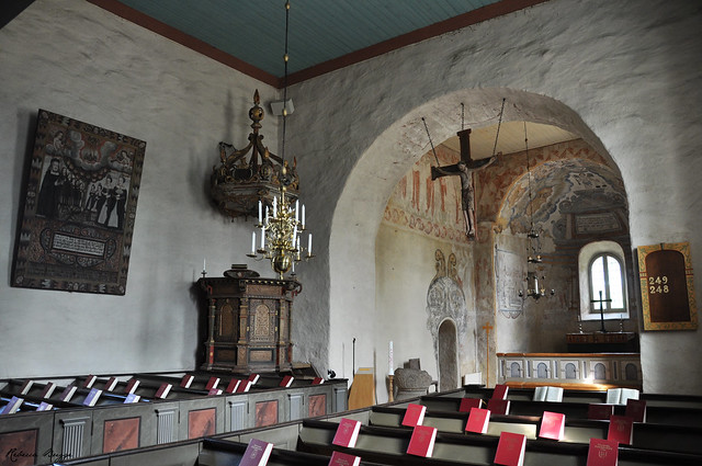 Myresjö old church (III)