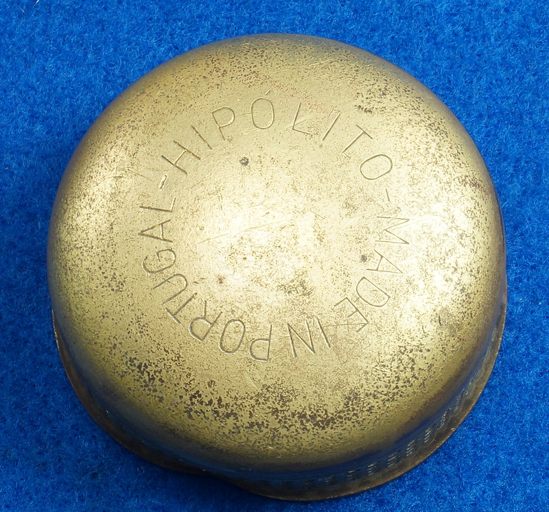 RD30487 RARE Vintage Brass Sunflower Vacuum Oil Co. No. 106 Camp Stove Portugal Hipolito DSC08911