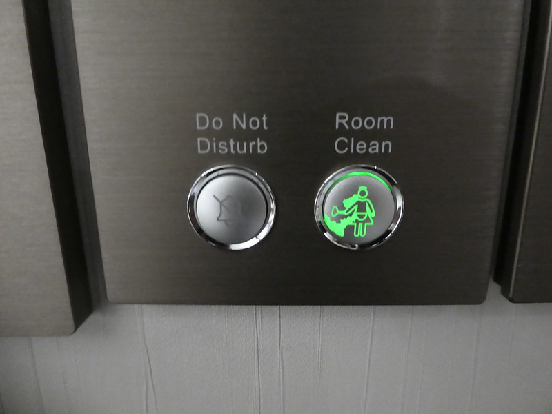 Green World Grand Nanjing Hotel Room Service buttons