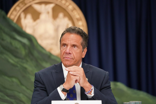 Governor Cuomo Makes An Announcement, Holds Briefing