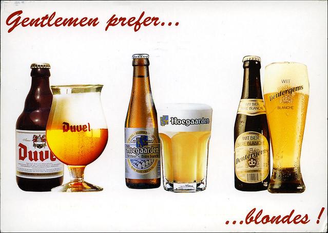 postcard - Belgium beer 4