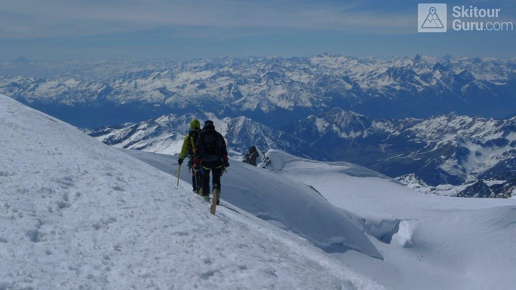 Signalkuppe / Punta Gnifetti Walliser Alpen / Alpes valaisannes Switzerland photo 45