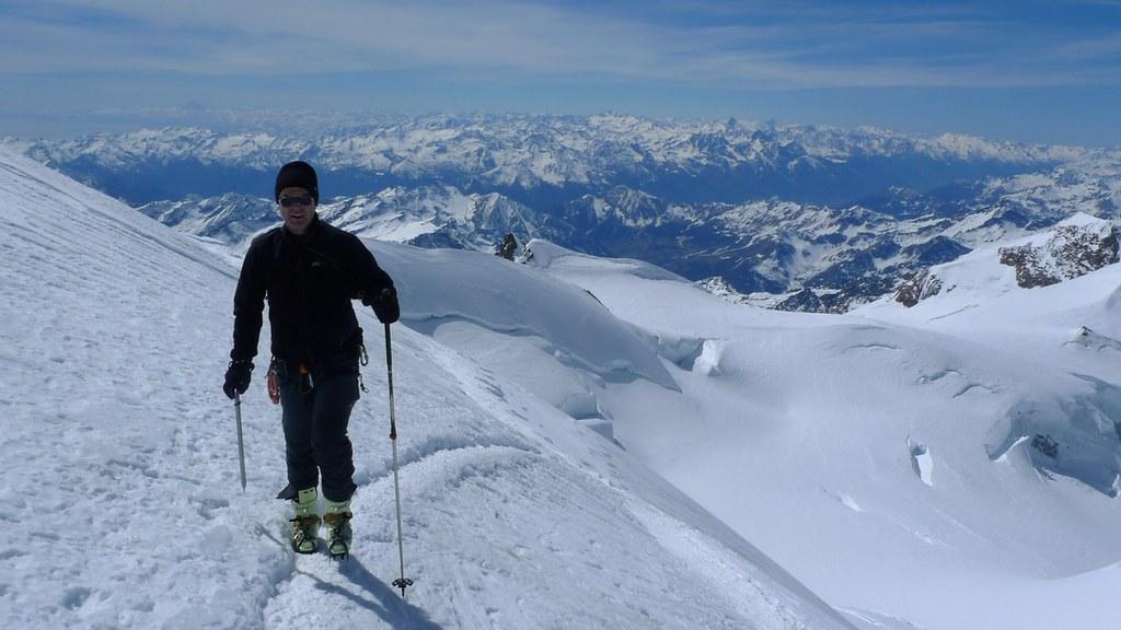 Signalkuppe / Punta Gnifetti Walliser Alpen / Alpes valaisannes Switzerland photo 42