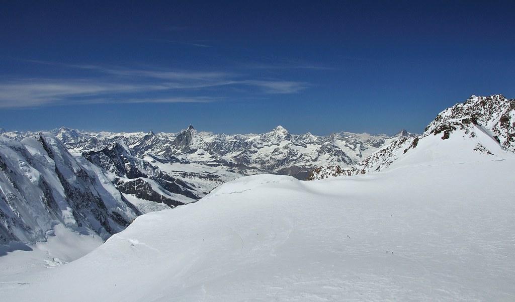 Signalkuppe / Punta Gnifetti Walliser Alpen / Alpes valaisannes Switzerland photo 47