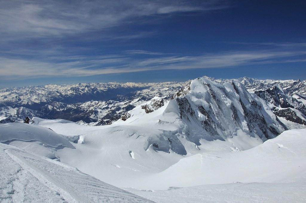 Signalkuppe / Punta Gnifetti Walliser Alpen / Alpes valaisannes Switzerland photo 46