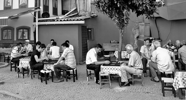 Backgammon time