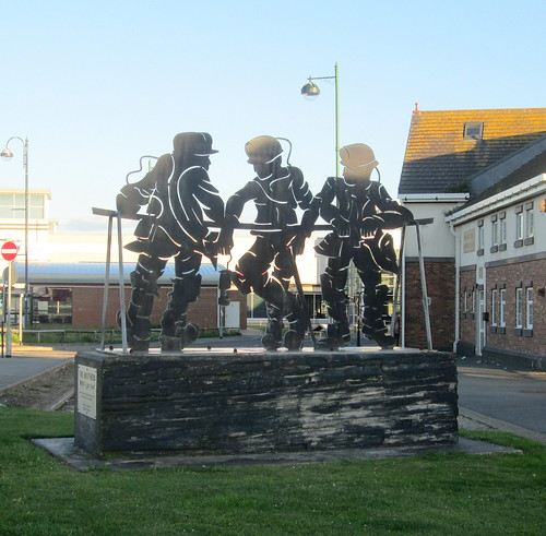 Miner's Memorial, Seaham, County Durham