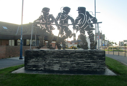 Seaham, County Durham, Miner's Memorial