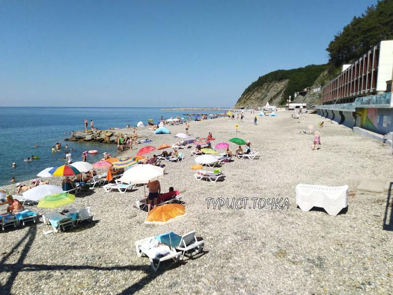 Ольгинка пляжи
