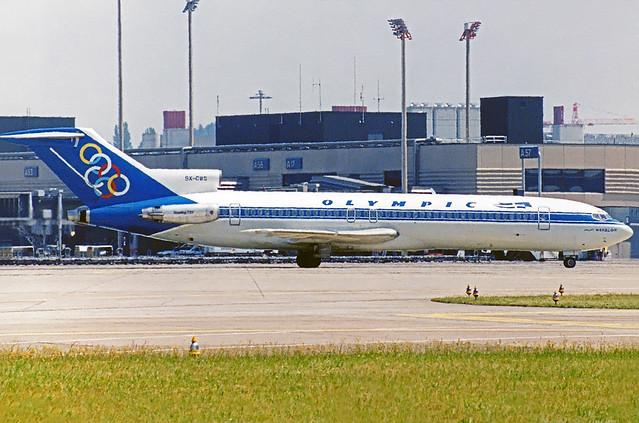 Olympic Airways Boeing 727-200 SX-CBG
