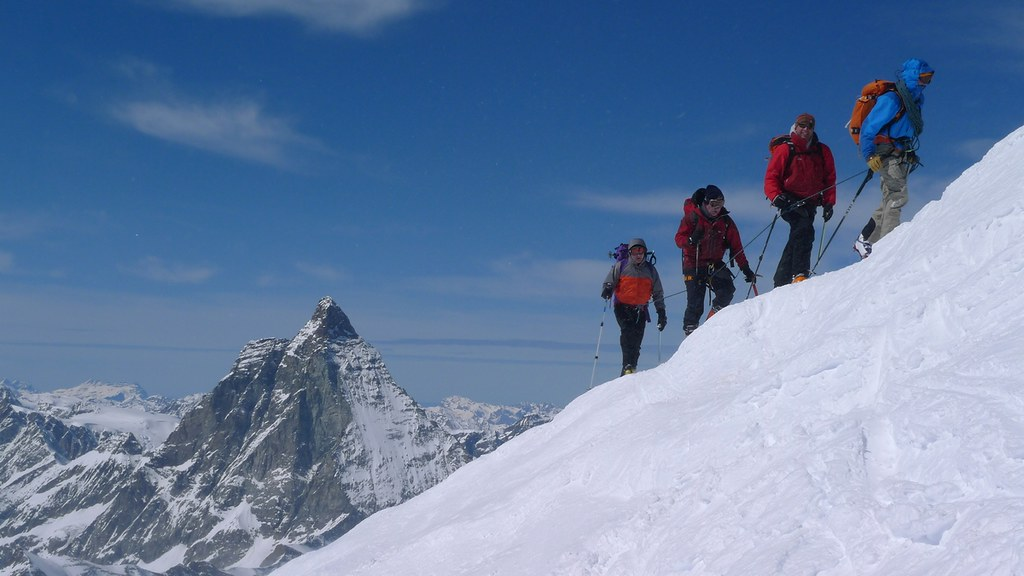 Breithorn - Zermatt Walliser Alpen / Alpes valaisannes Switzerland photo 32