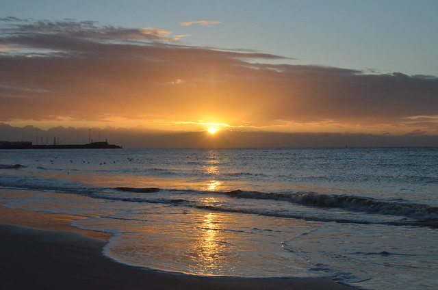 The risen sun