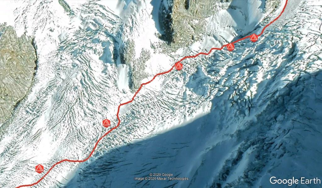 Signalkuppe / Punta Gnifetti Walliser Alpen / Alpes valaisannes Switzerland photo 07