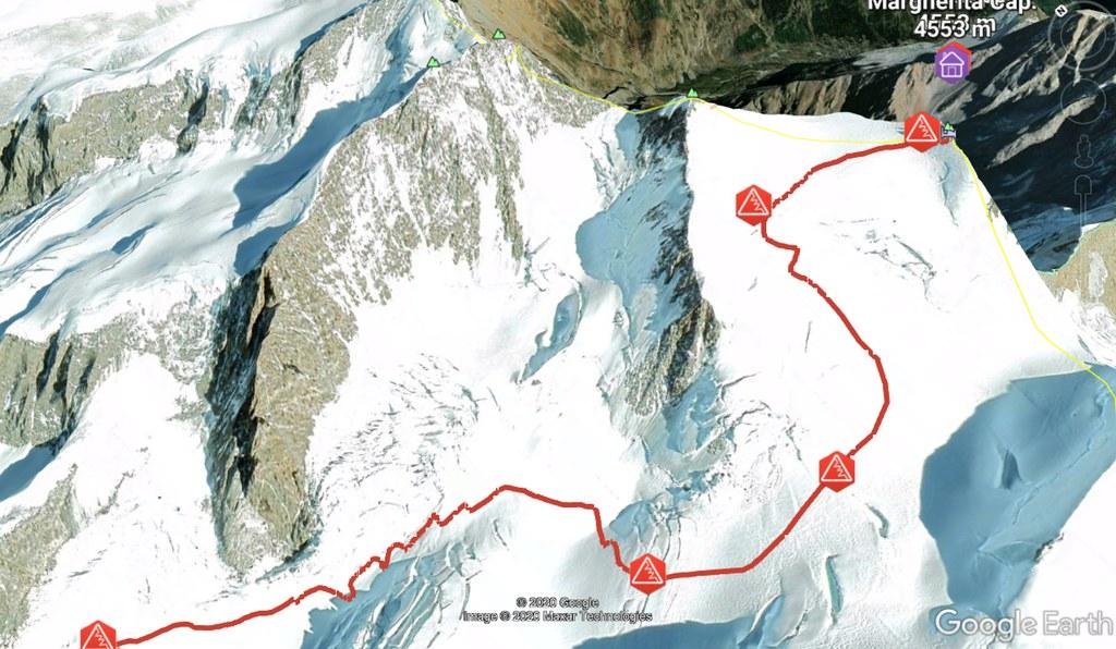 Signalkuppe / Punta Gnifetti Walliser Alpen / Alpes valaisannes Switzerland photo 08