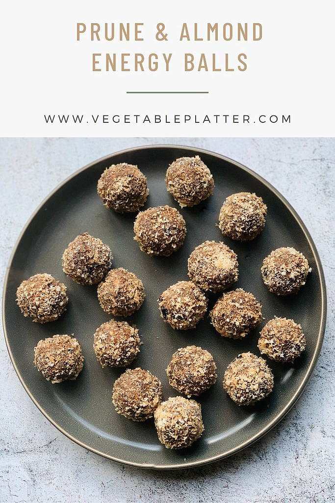 Prune & Almond Energy Balls