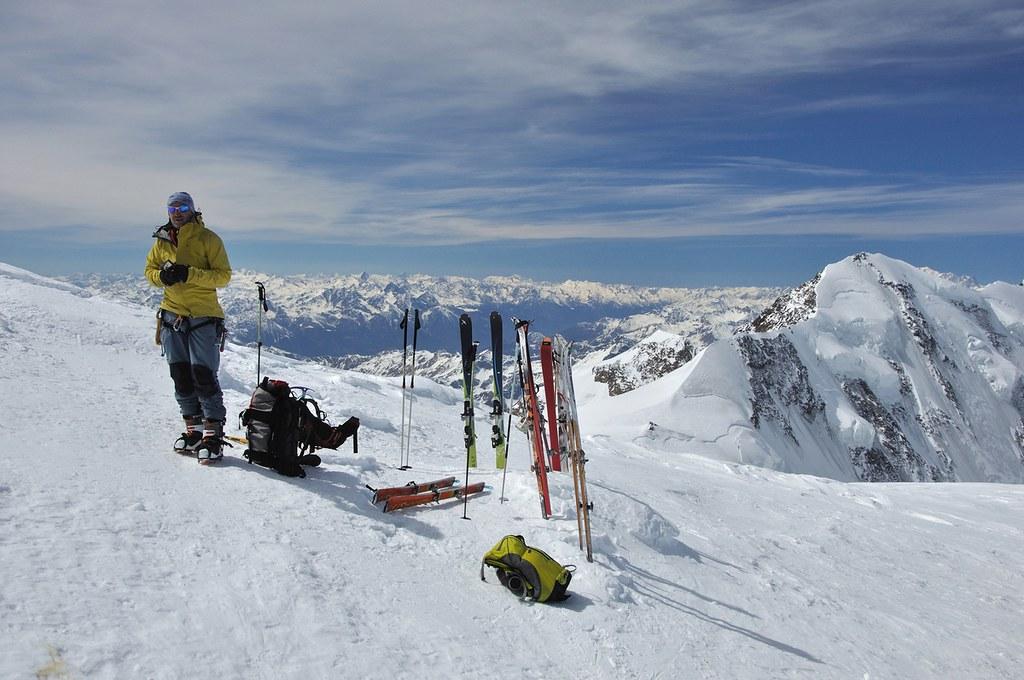 Signalkuppe / Punta Gnifetti Walliser Alpen / Alpes valaisannes Switzerland photo 39