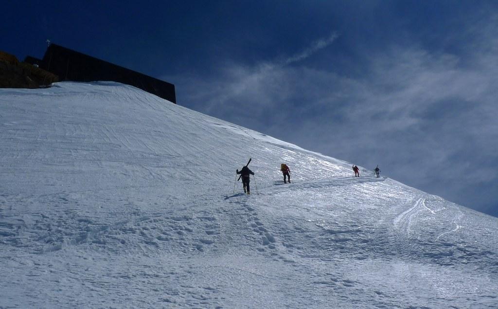 Signalkuppe / Punta Gnifetti Walliser Alpen / Alpes valaisannes Switzerland photo 41