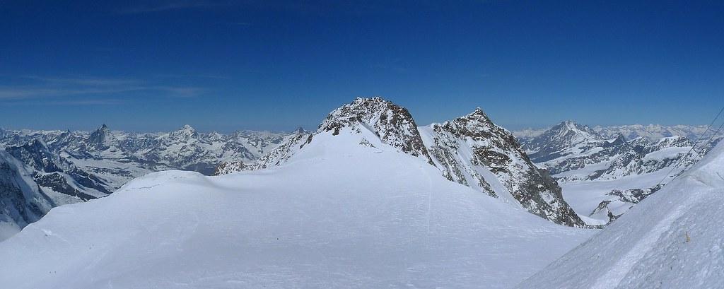 Signalkuppe / Punta Gnifetti Walliser Alpen / Alpes valaisannes Switzerland photo 49
