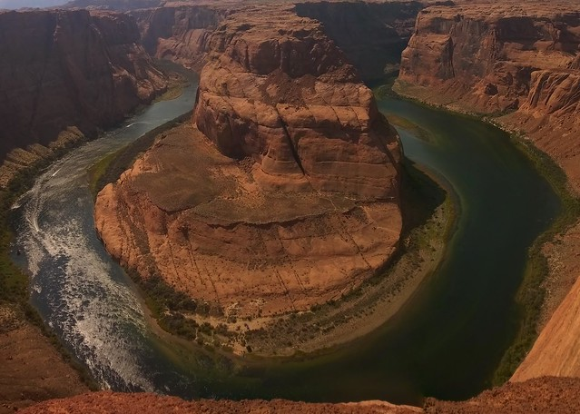 Horseshoe Bend, Glen Canyon National Recreation Area  8/21/2015