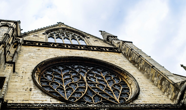 Lincoln Cathedral, Rose window