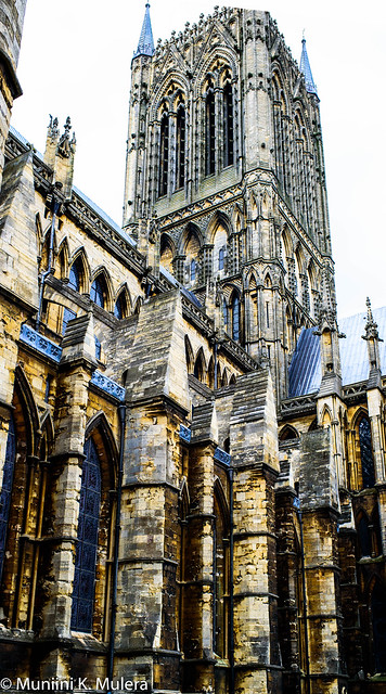 Lincoln Cathedral - Exterior Tower 2