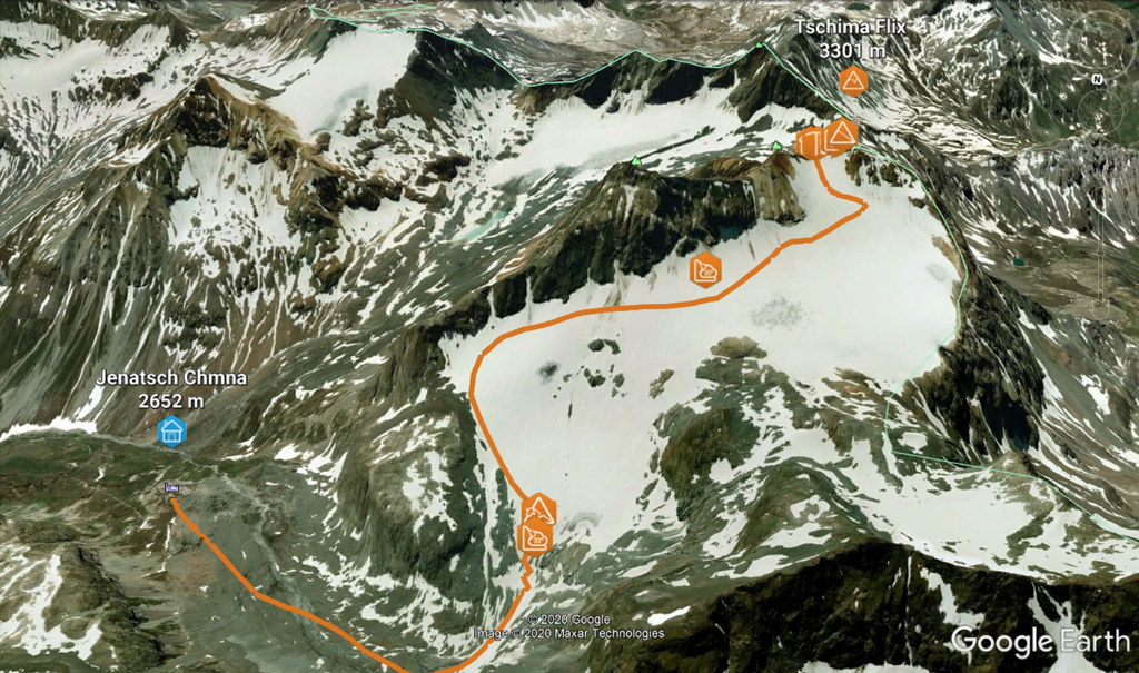 Tschima Flix Albula Alpen Švýcarsko foto 01