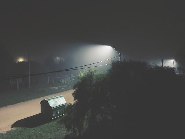 Pueblo Edén by night