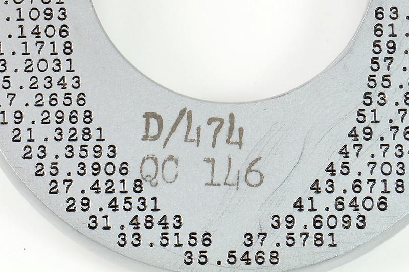 RD30616 Vintage L.S. Starrett Model # 230 Outside Micrometer 0-1 inch Accuracy .0001 DSC08946