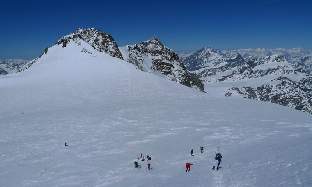 Signalkuppe / Punta Gnifetti Walliser Alpen / Alpes valaisannes Switzerland photo 38