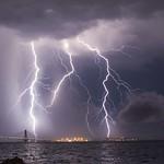 7. Juuli 2020 - 2:16 - ολονύχτιες καταιγίδες μαίνονται στην περιοχή της γέφυρας του Ρίου!