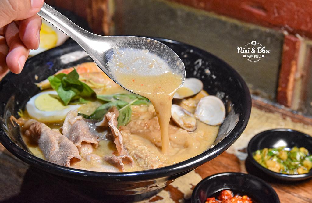 寶貝老闆新加坡叻沙麵 台中大遠百美食 菜單06