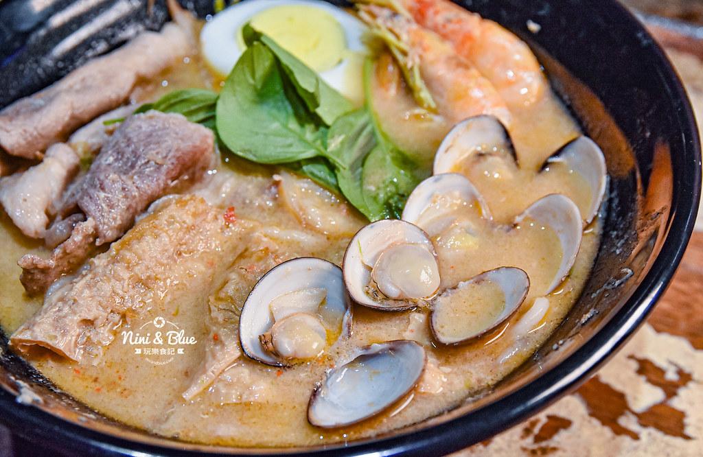 寶貝老闆新加坡叻沙麵 台中大遠百美食 菜單04