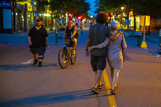 L'amour au temps des voies actives sécuritaires* / Summer in the city
