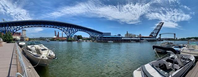 Cuyahoga River Bridges