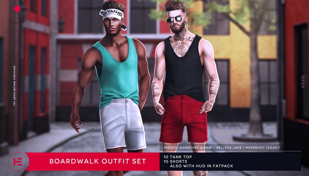 HEVO – Boardwalk Outfit Set