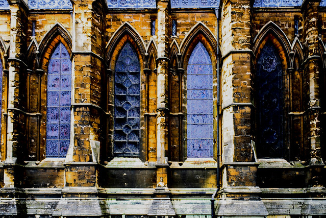 Lincoln Cathedral, stained glass  windows