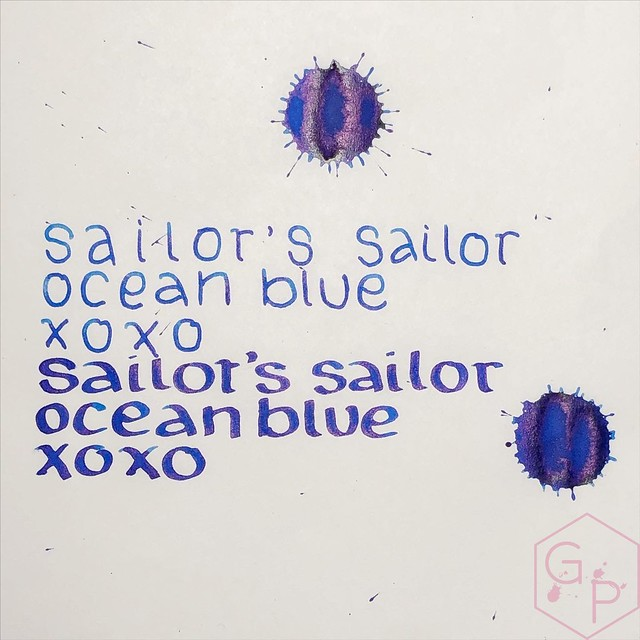 Sailor's Sailor Ocean Blue Ink 6