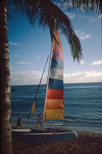 Sailboat in Hawaii