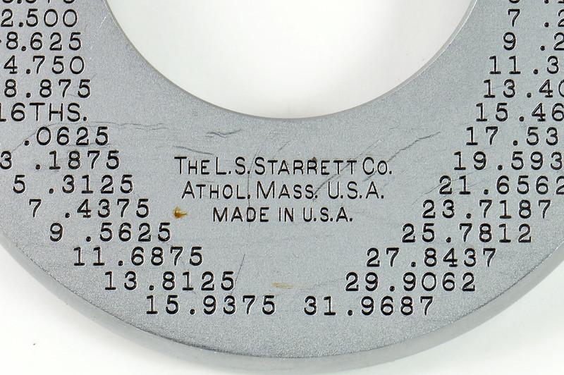 RD30616 Vintage L.S. Starrett Model # 230 Outside Micrometer 0-1 inch Accuracy .0001 DSC08947