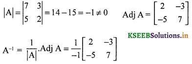 2nd PUC Maths Question Bank Chapter 4 Determinant 7