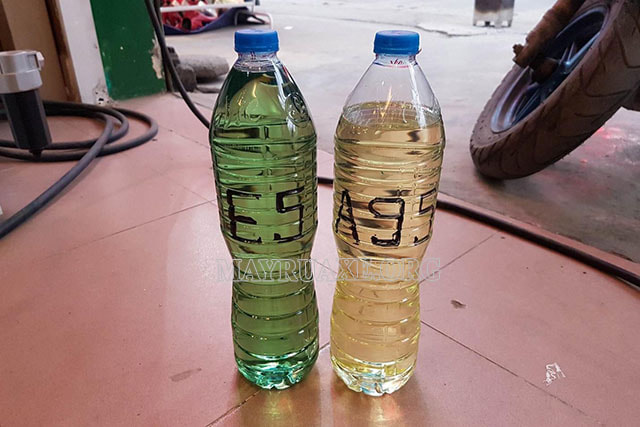 ガソリンが水より安い