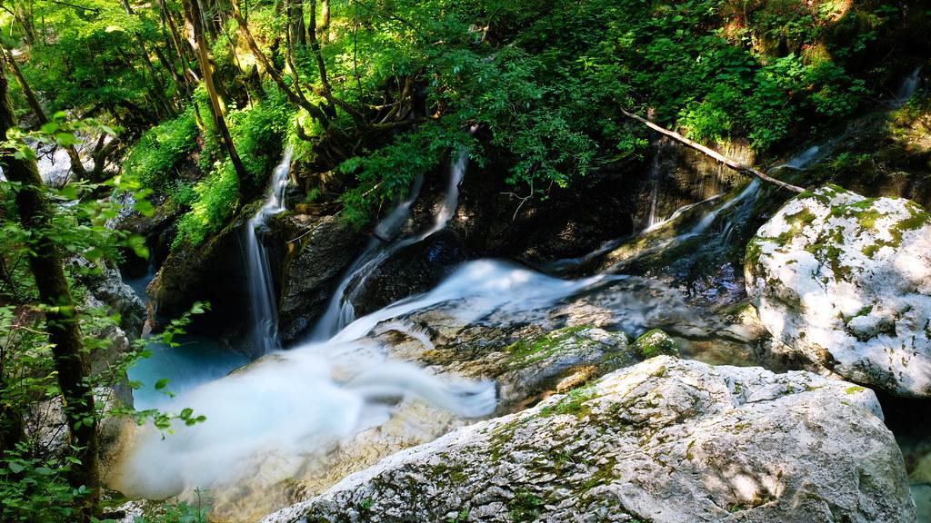 Šunik Water grove, Soča Valley, Slovenia
