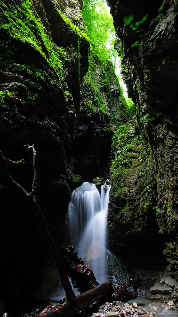 Koseč Gorges, Slovenia