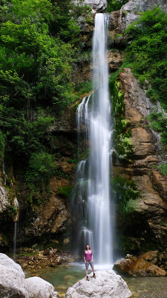Beri waterfall, Slovenia