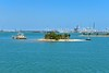 Not surrounded inland island - Biscayne Bay