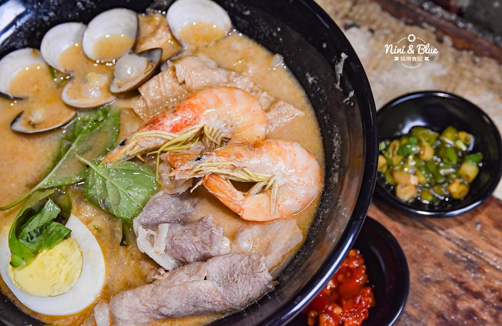 寶貝老闆新加坡叻沙麵 台中大遠百美食 菜單07
