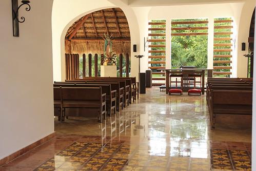 Chapel, Valentin Imperial Riviera Maya, Mexico
