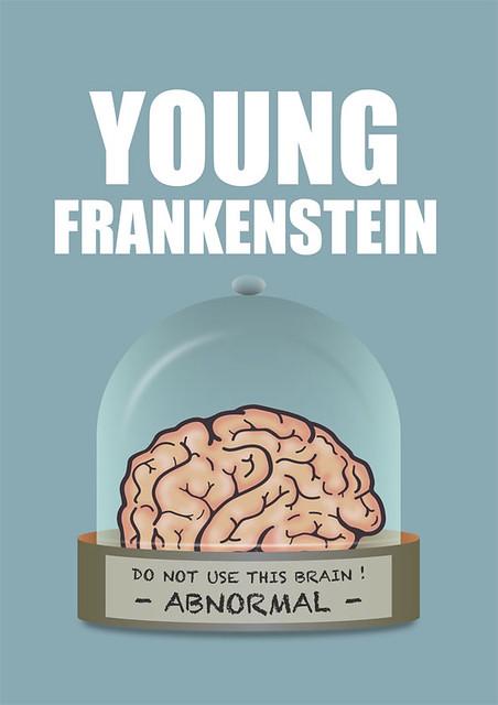 Young Frankenstein - Alternative Movie Poster