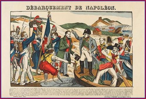 Veinte días de prensa ante el retorno triunfal de Napoleón